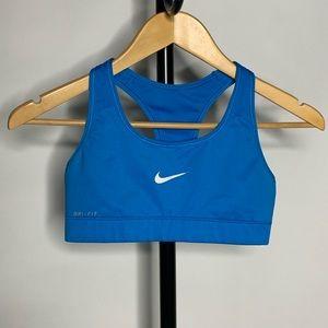 Nike Blue Razorback Sports Bra